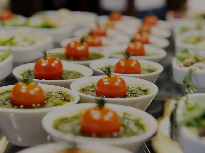Our Catering An experience for all senses